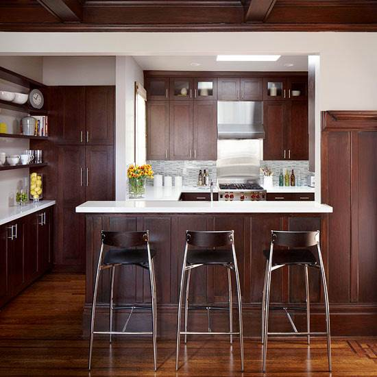 this kitchen and dining room were completely cut off from each other  a  characteristic often found in old homes  and removing the wall between the  two. Kitchen Design   Remodeling Project 3   OTM