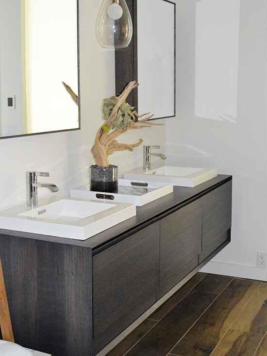 kitchen remodeling, floating vanity, clean lines master suite remodel