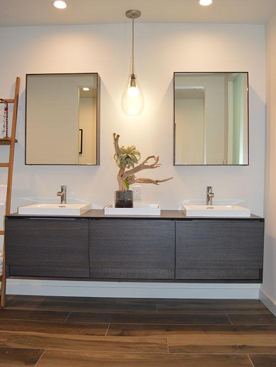 Floating Vabity,masterbath remodel, master suite, medicine cabinet