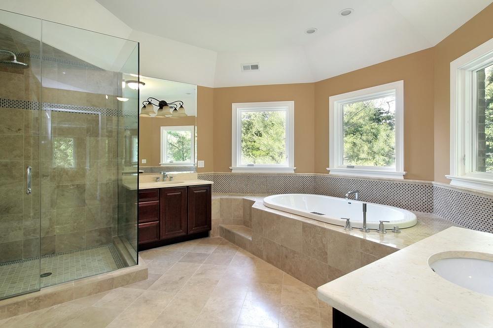 luxurious bathroom,spa