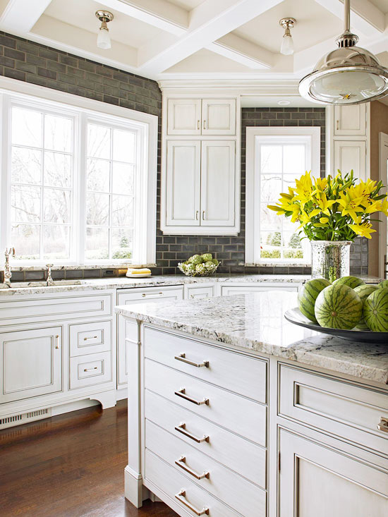 white counter tops
