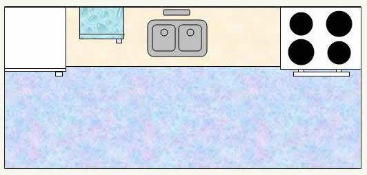 single line kitchen layout cr resized 600