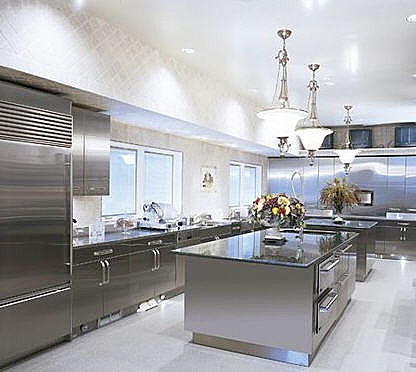 stainless steel home remodel