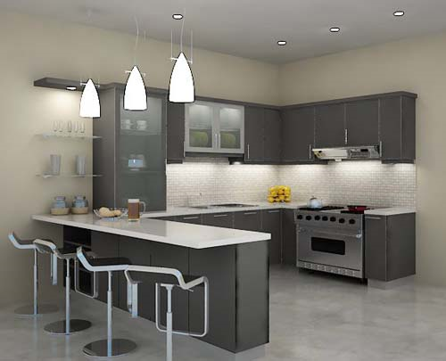 Best kitchen design layout which one best suits you otm for G shape kitchen
